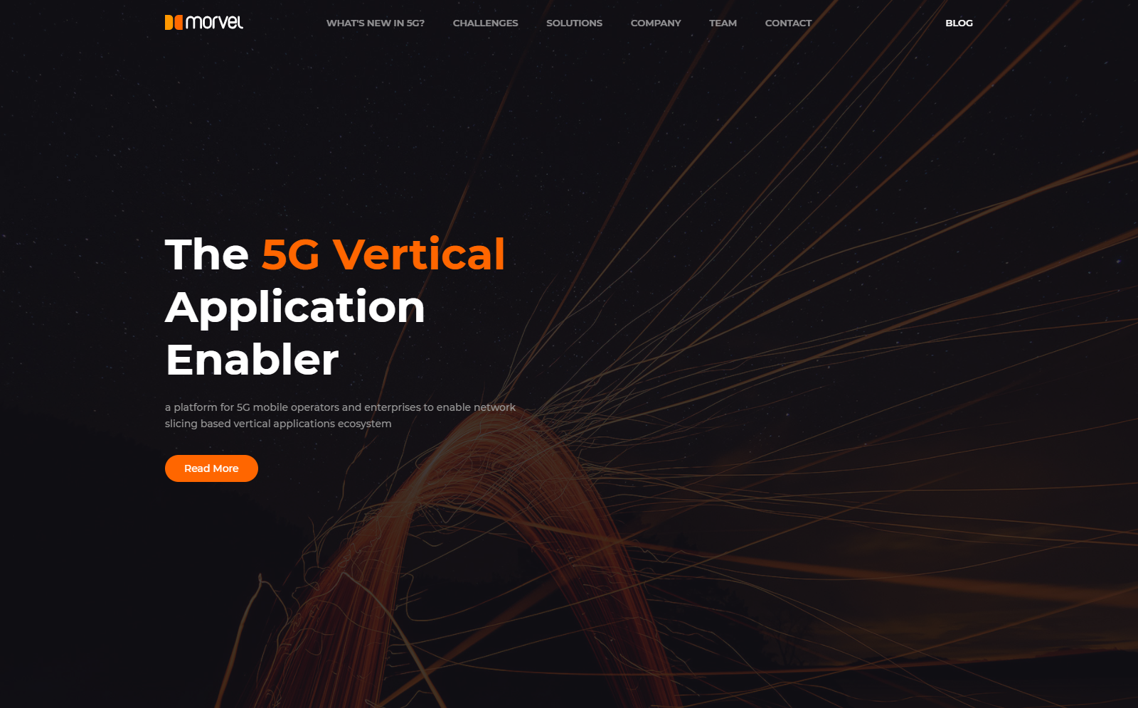 Morvel 5G Vertical Application Enabler